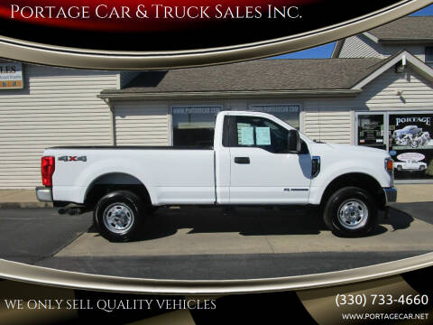 2020 Ford F-250 Super Duty for sale at Portage Car & Truck Sales Inc. in Akron OH