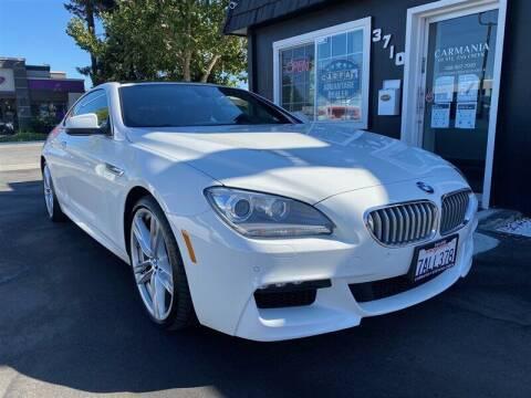 2012 BMW 6 Series for sale at Carmania of Stevens Creek in San Jose CA