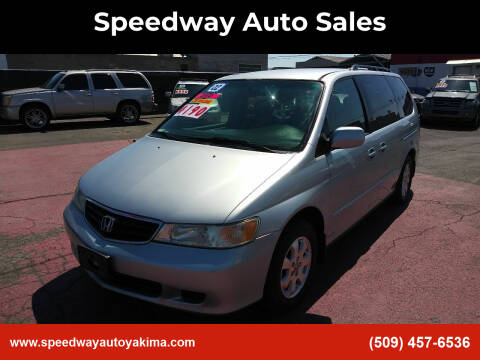 2002 Honda Odyssey for sale at Speedway Auto Sales in Yakima WA