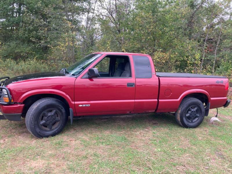 2002 Chevrolet S-10 for sale at Expressway Auto Auction in Howard City MI