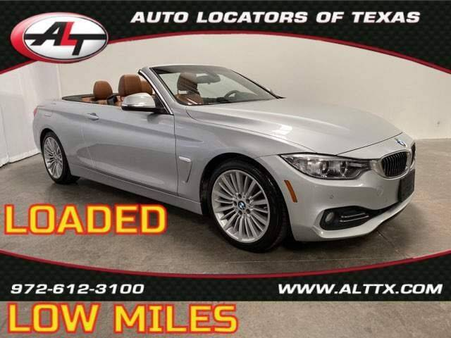 2014 BMW 4 Series for sale at AUTO LOCATORS OF TEXAS in Plano TX