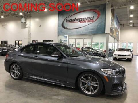 2016 BMW 2 Series for sale at Godspeed Motors in Charlotte NC