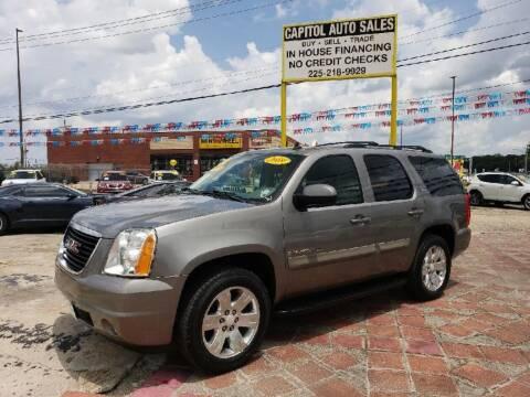 2009 GMC Yukon for sale at CAPITOL AUTO SALES LLC in Baton Rouge LA