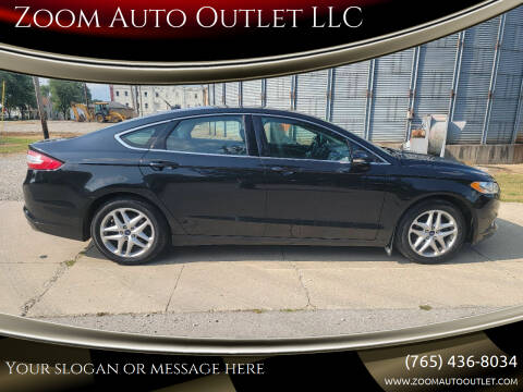 2014 Ford Fusion for sale at Zoom Auto Outlet LLC in Thorntown IN