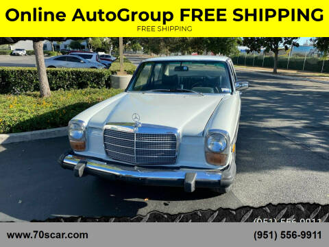 1975 Mercedes-Benz 240-Class for sale at Online AutoGroup FREE SHIPPING in Riverside CA