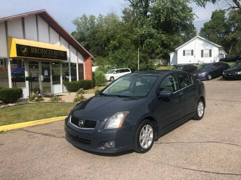 2009 Nissan Sentra for sale at Bronco Auto in Kalamazoo MI