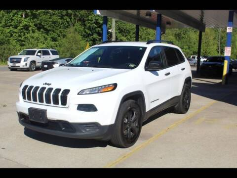 2017 Jeep Cherokee for sale at Inline Auto Sales in Fuquay Varina NC