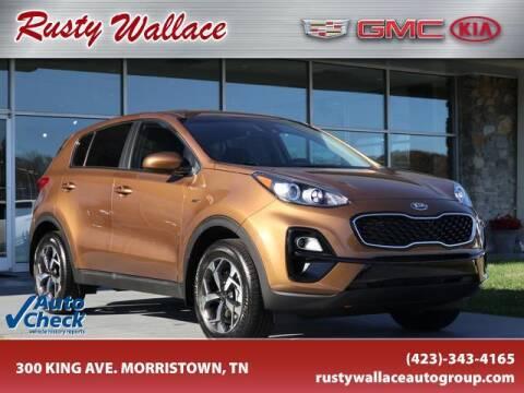 2021 Kia Sportage for sale at RUSTY WALLACE CADILLAC GMC KIA in Morristown TN