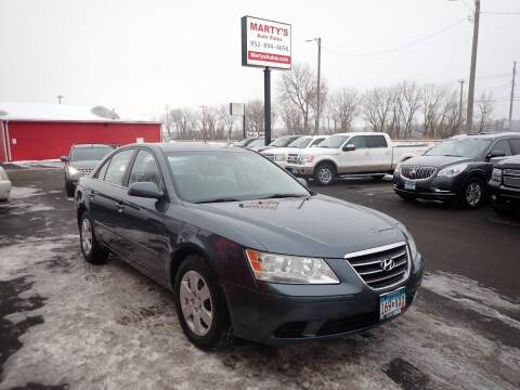 2009 Hyundai Sonata for sale at Marty's Auto Sales in Savage MN