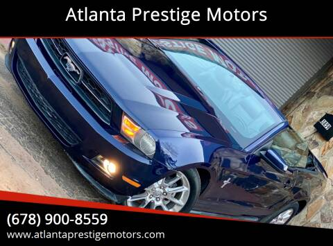 2010 Ford Mustang for sale at Atlanta Prestige Motors in Decatur GA
