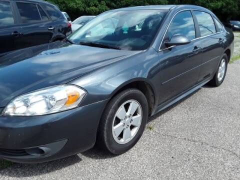 "2010 Chevrolet Impala for sale at MIDWESTERN AUTO SALES        ""The Used Car Center"" in Middletown OH"