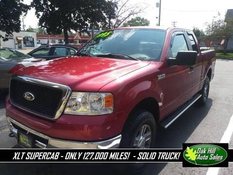 2007 Ford F-150 for sale at Oak Hill Auto Sales of Wooster, LLC in Wooster OH