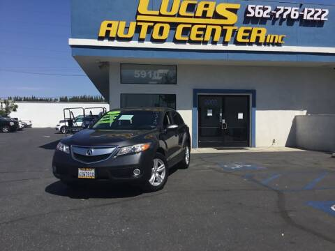 2013 Acura RDX for sale at Lucas Auto Center in South Gate CA