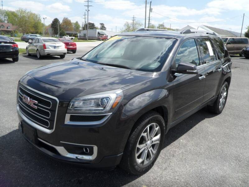 2016 GMC Acadia for sale at CARSON MOTORS in Cloverdale IN