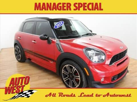 2014 MINI Countryman for sale at Autowest of GR in Grand Rapids MI