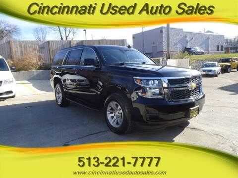 2018 Chevrolet Tahoe for sale at Cincinnati Used Auto Sales in Cincinnati OH
