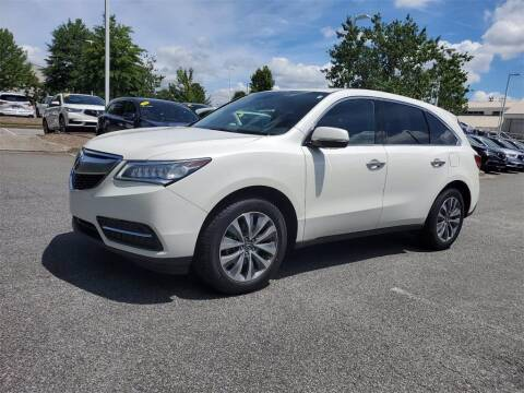 2016 Acura MDX for sale at CU Carfinders in Norcross GA