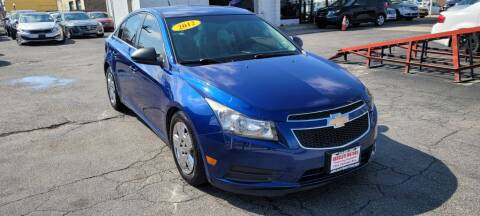 2012 Chevrolet Cruze for sale at Absolute Motors in Hammond IN