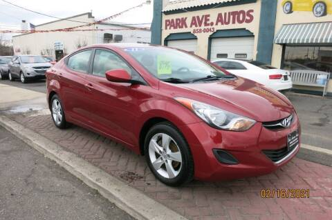 2011 Hyundai Elantra for sale at PARK AVENUE AUTOS in Collingswood NJ