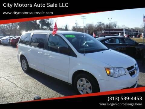 2013 Dodge Grand Caravan for sale at City Motors Auto Sale LLC in Redford MI