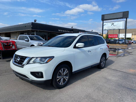 2019 Nissan Pathfinder for sale at NORRIS AUTO SALES in Oklahoma City OK