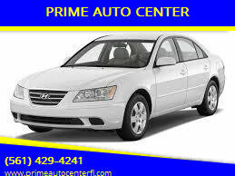 2009 Hyundai Sonata for sale at PRIME AUTO CENTER in Palm Springs FL