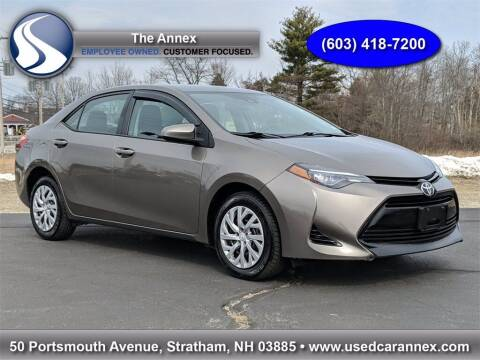 2017 Toyota Corolla for sale at The Annex in Stratham NH
