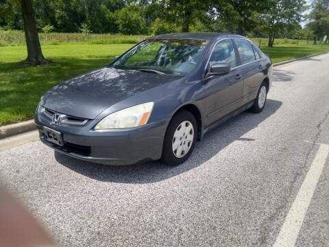 2003 Honda Accord for sale at Laurel Wholesale Motors in Laurel MD