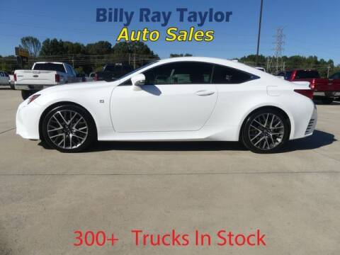 2015 Lexus RC 350 for sale at Billy Ray Taylor Auto Sales in Cullman AL