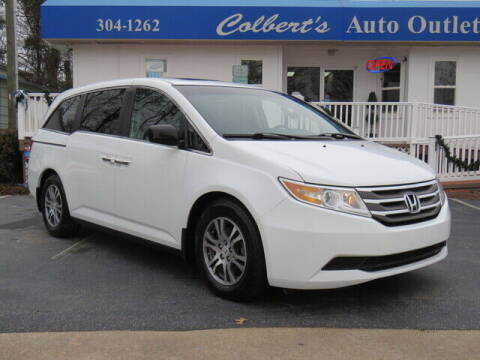 2012 Honda Odyssey for sale at Colbert's Auto Outlet in Hickory NC