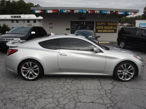 2013 Hyundai Genesis Coupe for sale at HAPPY TRAILS AUTO SALES LLC in Taylors SC