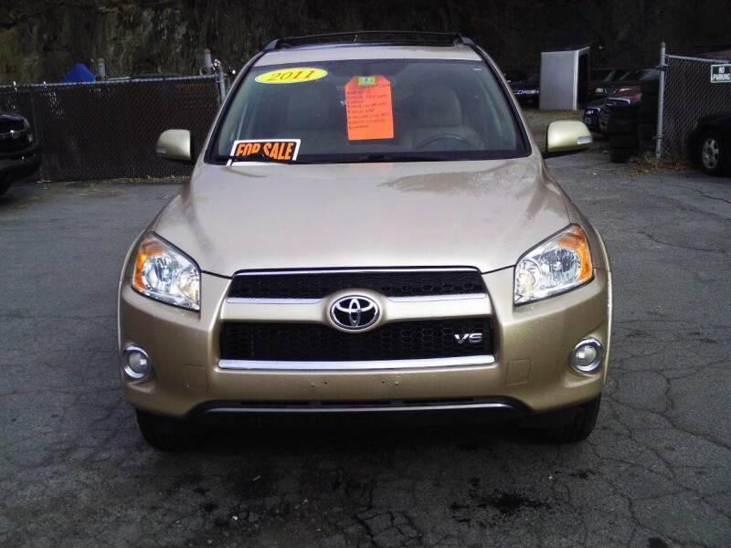 2011 Toyota RAV4 for sale at ALAN SCOTT AUTO REPAIR in Brattleboro VT