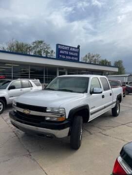 2002 Chevrolet Silverado 2500HD for sale at Right Away Auto Sales in Colorado Springs CO