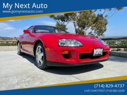1993 Toyota Supra for sale at My Next Auto in Anaheim CA
