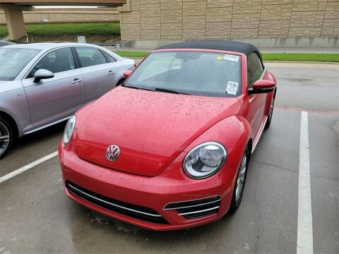 2018 Volkswagen Beetle Convertible for sale at Excellence Auto Direct in Euless TX