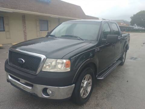 2006 Ford F-150 for sale at LAND & SEA BROKERS INC in Pompano Beach FL