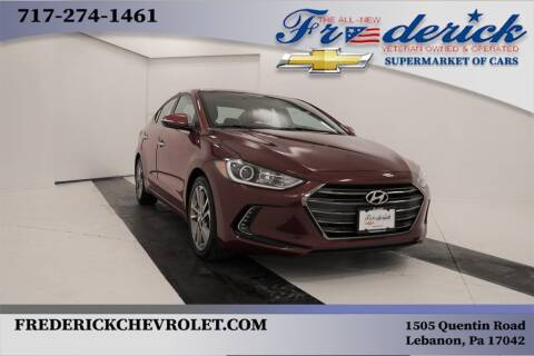 2017 Hyundai Elantra for sale at Lancaster Pre-Owned in Lancaster PA