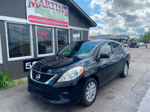 2014 Nissan Versa for sale at Martins Auto Sales in Shelbyville KY
