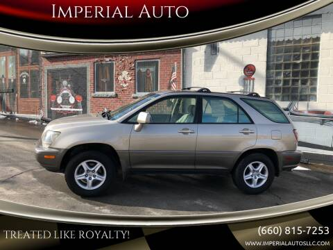 2000 Lexus RX 300 for sale at Imperial Auto of Marshall in Marshall MO