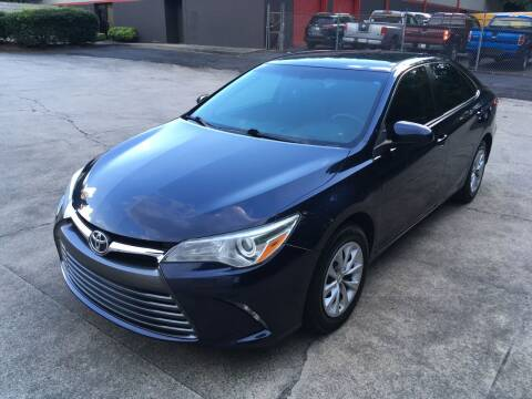 2016 Toyota Camry for sale at Legacy Motor Sales in Norcross GA