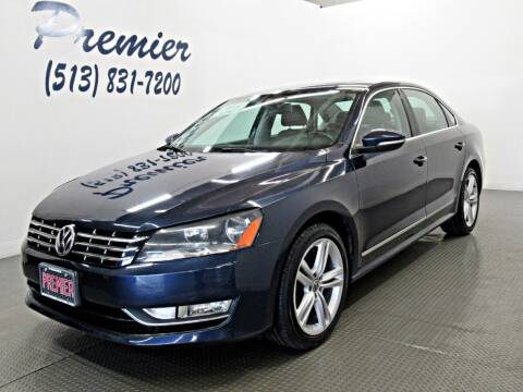 2012 Volkswagen Passat for sale at Premier Automotive Group in Milford OH