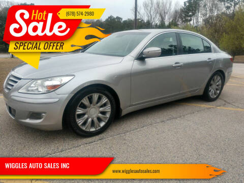 2011 Hyundai Genesis for sale at WIGGLES AUTO SALES INC in Mableton GA