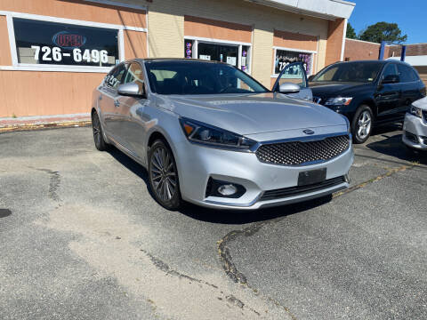 2017 Kia Cadenza for sale at City to City Auto Sales in Richmond VA