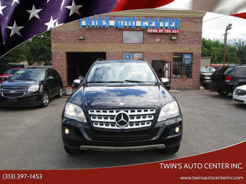 2010 Mercedes-Benz M-Class for sale at Twin's Auto Center Inc. in Detroit MI