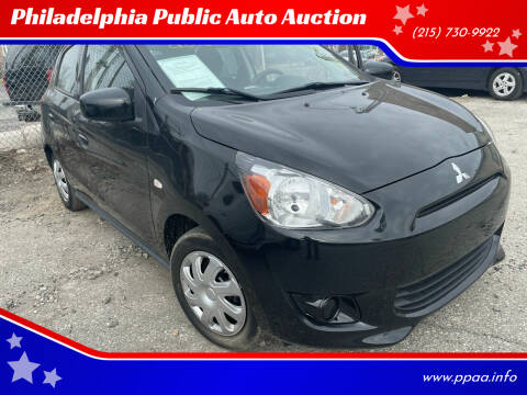 2015 Mitsubishi Mirage for sale at Philadelphia Public Auto Auction in Philadelphia PA
