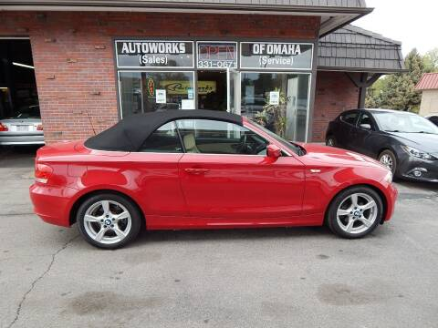 2012 BMW 1 Series for sale at AUTOWORKS OF OMAHA INC in Omaha NE