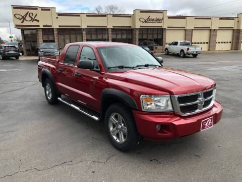 2008 Dodge Dakota for sale at ASSOCIATED SALES & LEASING in Marshfield WI