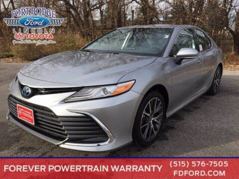 2021 Toyota Camry Hybrid for sale at Fort Dodge Ford Lincoln Toyota in Fort Dodge IA