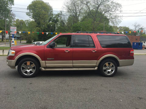 2007 Ford Expedition EL for sale at Diamond Auto Sales in Lexington NC