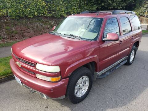 2004 Chevrolet Tahoe for sale at KC Cars Inc. in Portland OR
